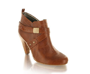 Barratts Fabulous Leather Look Shoe Boot