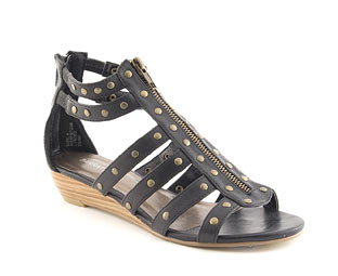 Gladiator Sandal With Wedge Heel