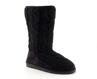 Barratts Knitted Calf Length Boot