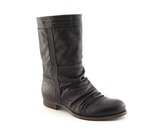 Barratts Leather Slouch Boot