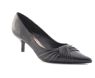 Low Heel Court Shoe