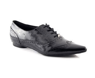 Patent Lace Up Formal Shoe
