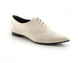 Patent Lace Up Jazz Shoe