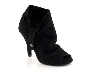 Peep Toe Shoe Boot