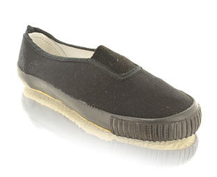 School plimsoleFabric upperSlip on style!Product Name: Plimsole G 5x9 - CLICK FOR MORE INFORMATION
