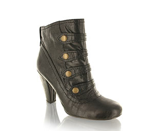 Barratts Strap And Button Ankle Boot