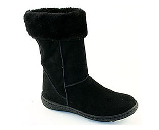 Barratts Stylish Suede Style Boot -Size 10