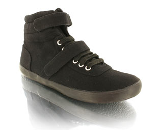 Barratts Trendy Canvas Ankle Boot