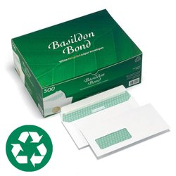 Basildon Bond Peel And Seal Envelopes 100gsm White DL 110 x 220 mm 500 Per Box; Free 30-Day Trial an - CLICK FOR MORE INFORMATION