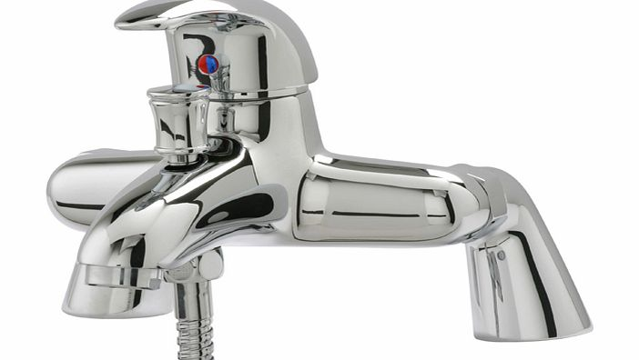 Agra Deck Mounted Single Lever Bath & Shower Mixer