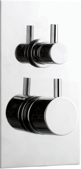 Celeste Dual Control Thermostatic Shower Valve