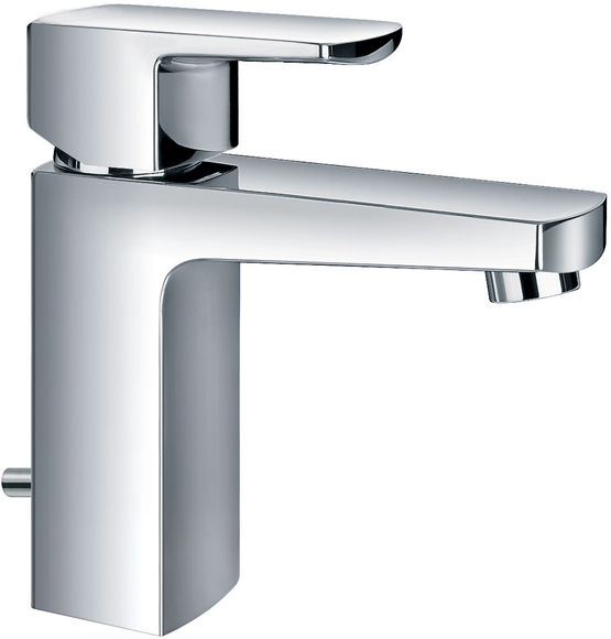 Chloe Single lever basin mixer with clicker waste