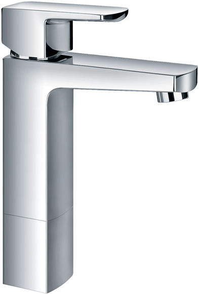 Chloe single lever medium basin mixer with