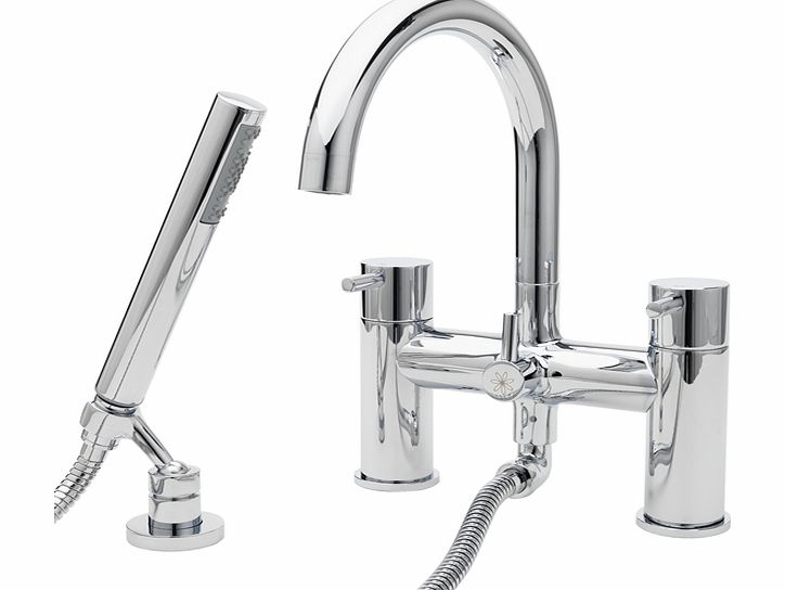 Collections Deck Mounted Bath & Shower Mixer