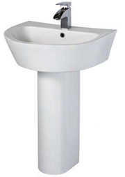 Horizon Wash Basin & Pedestal