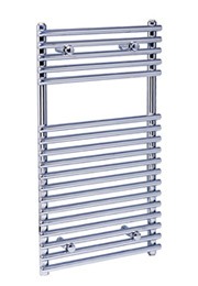 Loire Chrome Flat Heated Towel Rail 500mm x 1200mm