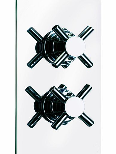 West Cross Wall Mounted Thermostatic Valve