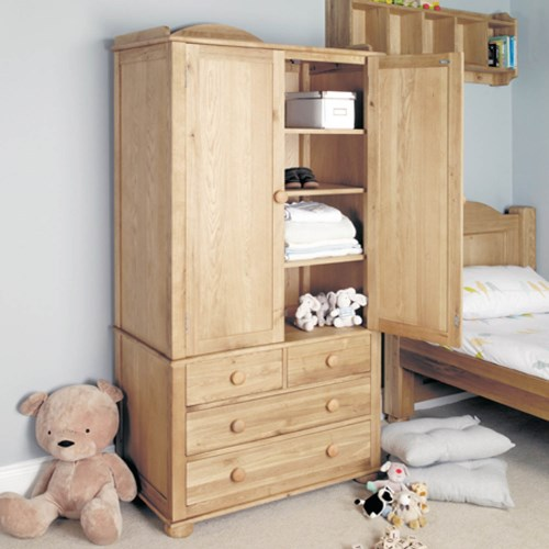 Baumhaus amelie oak childrens double wardrobe review for Childrens wardrobes uk