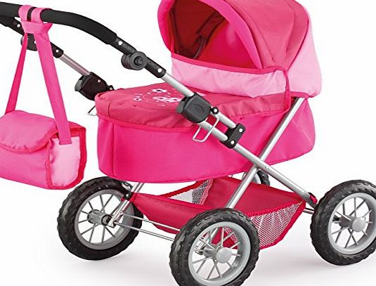 Bayer Dolls Trendy Pram (Strong Pink)
