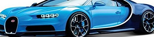 Bburago Bugatti Chiron 1:18 Scale Diecast Model (Colours May Vary)