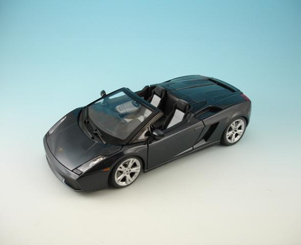 Lamborghini Gallardo Spyder Black