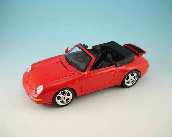 Porsche 911 Carrera Cabriolet 1994 Red