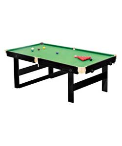 bce Rolling Lay Flat Snooker Table 6ft