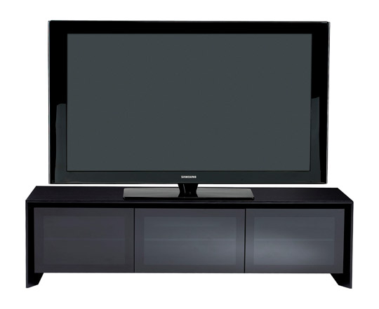 Casata 8627 Black/Oak TV Cabinet - No Mount