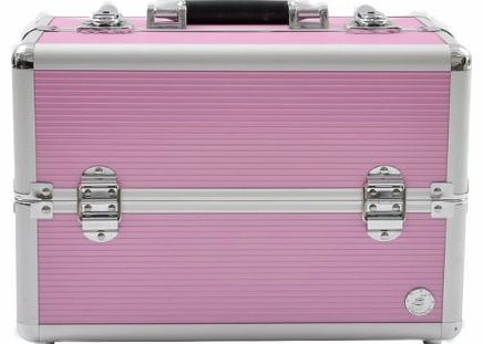 Beauty Boxes Beauty-Boxes San Remo Pink Cosmetics and Make-up Beauty Case