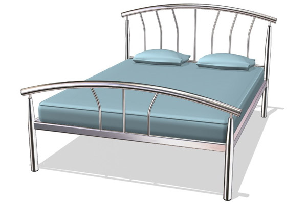 Cheap King Size Metal Bed Frame 600 x 400