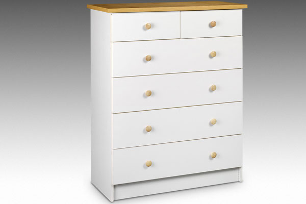 Bedworld Discount Baltimore Six Drawer Low Chest