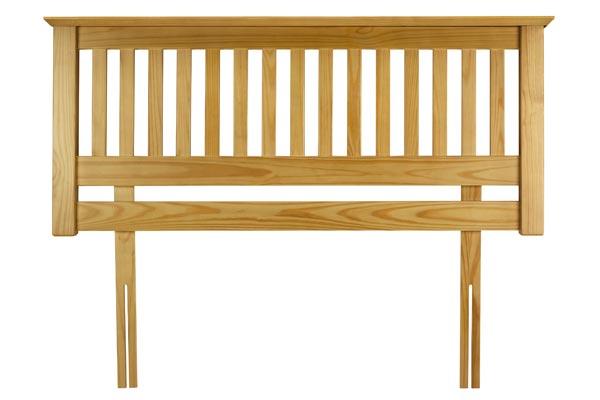 White Wooden Headboard 600 x 400