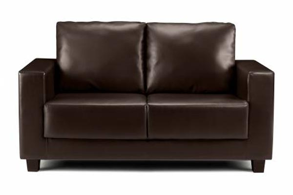 leather sofa bedworld discount boxa brown faux leather sofa bed