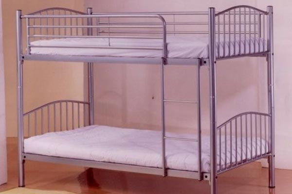Bedworld Discount Corfu Metal Bunk Bed Single 90cm