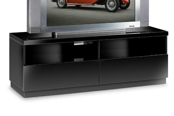 tv cabinets bedworld discount dakota black tv unit. Black Bedroom Furniture Sets. Home Design Ideas