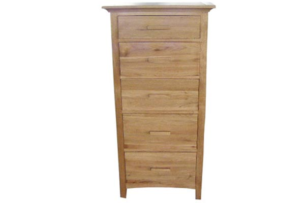 Kendall Oak 4 1 Drawer Chest