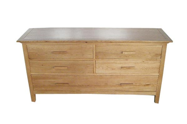 Kendall Oak 5 Drawer Chest
