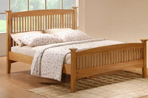 TwinFull Fashion Bed Group Engineered Bed Frame in Black