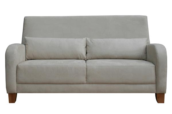 Bedworld Discount Emily Leather Three Seater Sofa Bed Mattress Sale