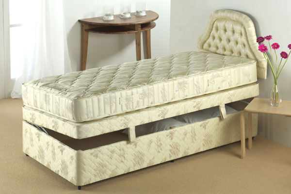Cheap single ottoman beds buy cheap small single ottoman for Cheap single divan