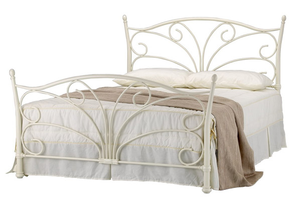 Bedworld Discount Seattle Metal Bed Frame Double 135cm
