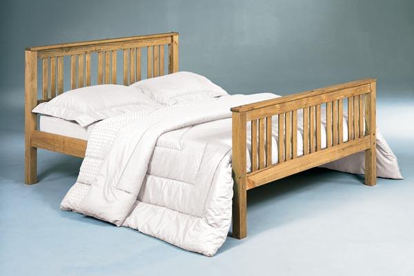 Bedworld discount shaker bed frame double 135cm review for Affordable bed frames