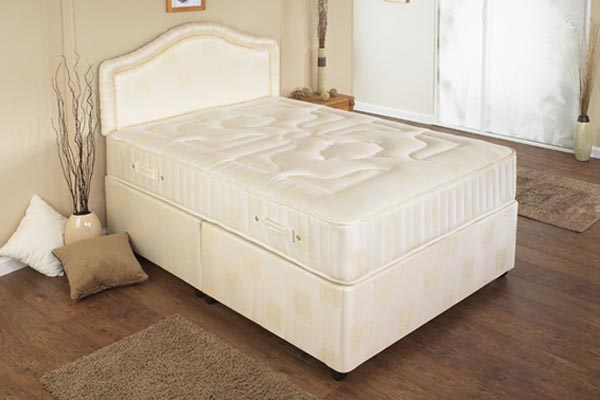 Harmony beds double beds reviews for Small double divan bed with headboard
