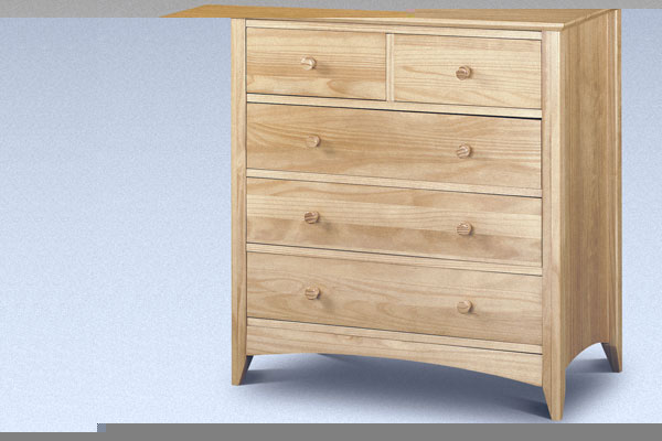 Kendal - Five Drawer Chest