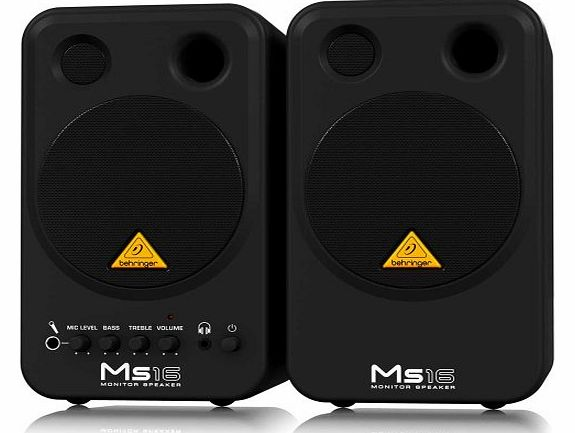 Behringer MS16 Personal Monitor System product image