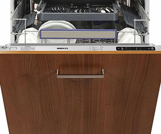 Beko DW663 12 Place Full Size Integrated Dishwasher