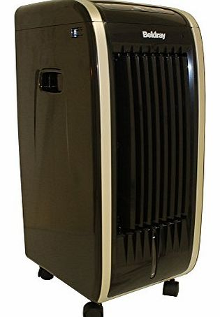 Beldray AIR COOLER - 3 IN 1 - HUMIDIFIER - PURIFIER - AIR COOLING (Black) product image
