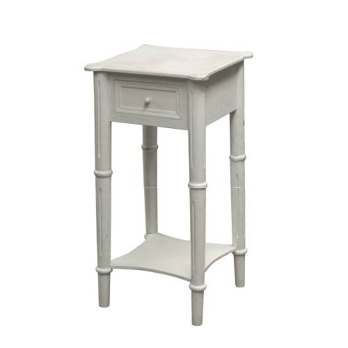 Belgravia white 1 drawer bedside table review compare for Buy white bedside table