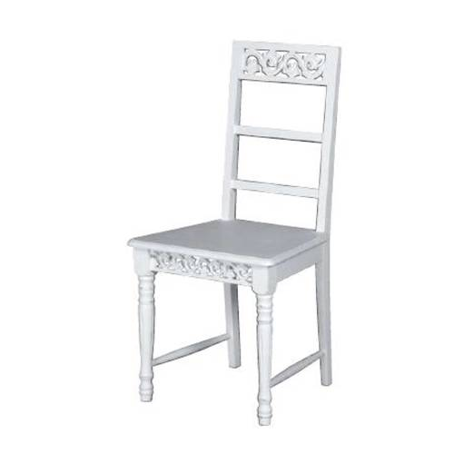Simple style makes the Belgravia chair an elegant addition to any room. The antique white painted finish adds a subtle distressed look to the chairs, and the intricate cut out detailing gives them a rustic, country charm which is characteristic of th - CLICK FOR MORE INFORMATION