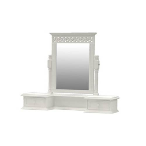 hits for other dressing table mirror white